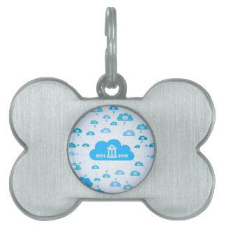 Business a cloud3 pet tag