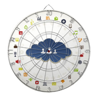 Business a cloud dart board
