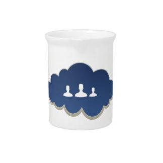 Business a cloud pitcher