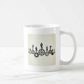Business a gear wheel coffee mug