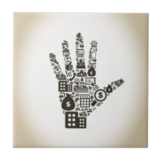 Business a hand2 tile