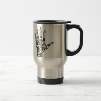 Business a hand2 travel mug