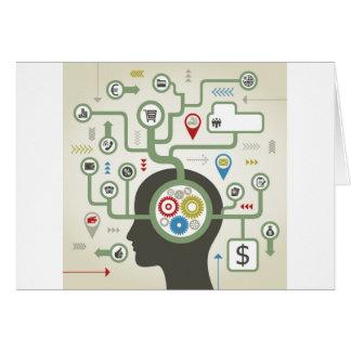 Business a head card