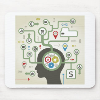 Business a head mouse pad