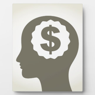 Business a head plaque