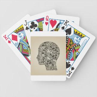 Business a head poker deck