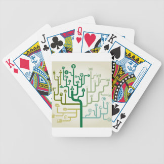 Business a labyrinth bicycle playing cards