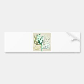Business a labyrinth bumper sticker