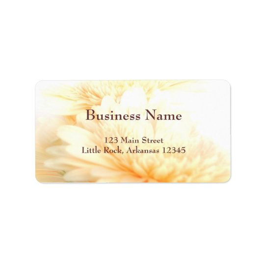 Business Address Label