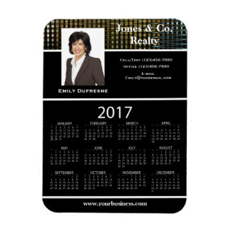 Business Advertising/Promotional 2017 Calendar II Magnet