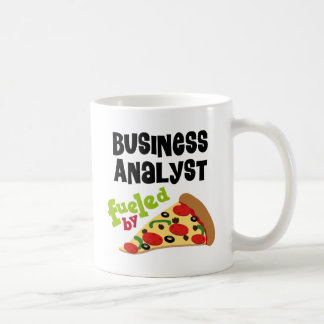 Business Analyst (Funny) Pizza T Shirt Coffee Mug
