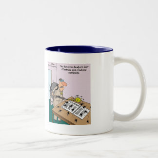 Business Analyst's Role: Eliminate Ambiguity Mug
