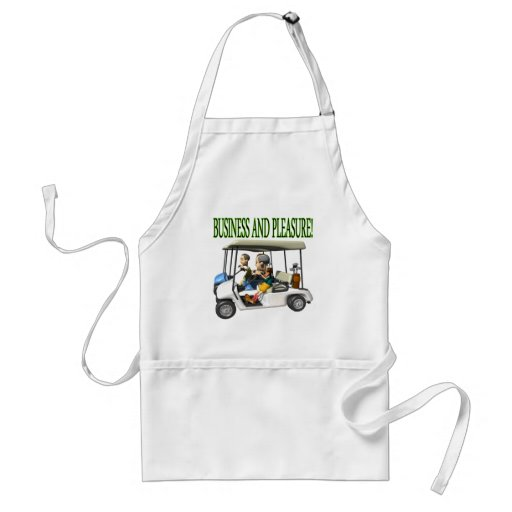 Business And Pleasure Apron