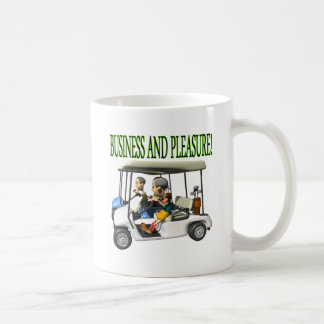 Business And Pleasure Mugs