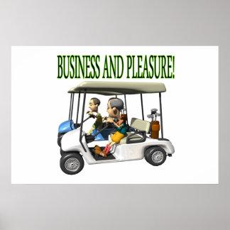 Business And Pleasure Print