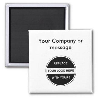 Business Blank Logo Magnets