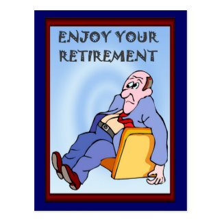 Business buddies, Enjoy your retirement Post Cards