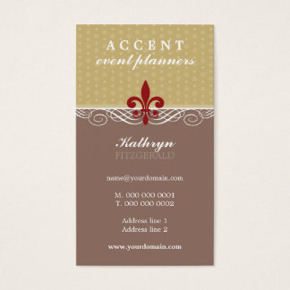BUSINESS CARD :: accent 4