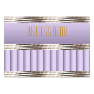 Business Card Art Deco Lilac Mauve