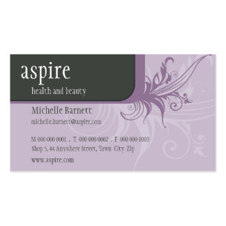 BUSINESS CARD :: aspired flair 10