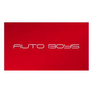 Business Card - Auto Nascar