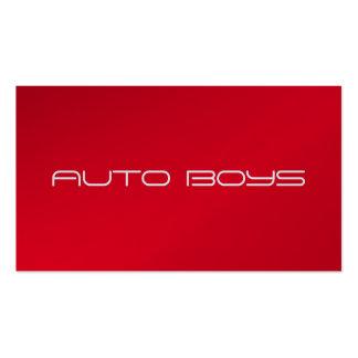 Business Card - Auto Nascar
