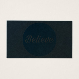 Business Card - Believe