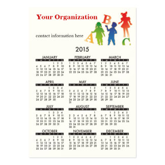 Business Card Calendar Daycare
