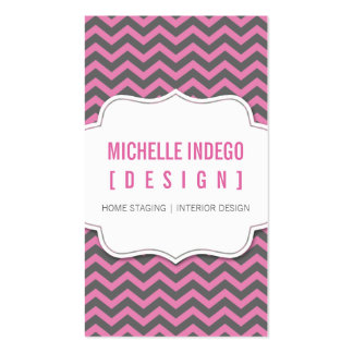 BUSINESS CARD :: chevron3 11P