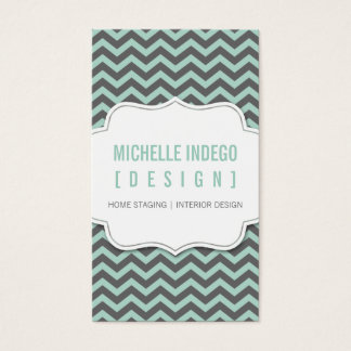 BUSINESS CARD :: chevron3 2P