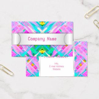 Business Card Colorful digital art splashing G473