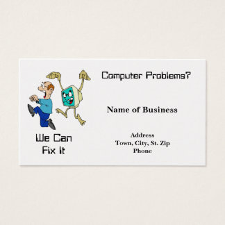 Business Card-Computers-We can Fix It Business Card