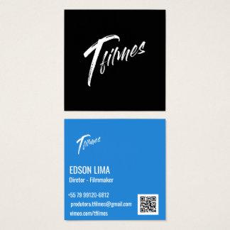 Business card Filmmaker and Fotógrafo