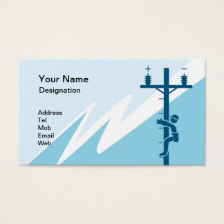 Business Card For Electrical Business