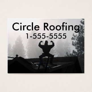Business Card For Roofer/Construction
