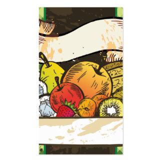 business card for supermarket,fruit dealers