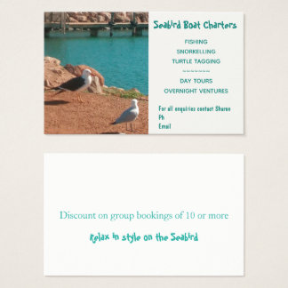 Business card for the seafaring professional