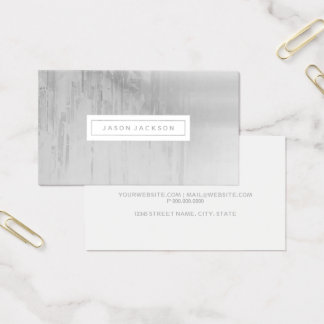 Business Card - Greys