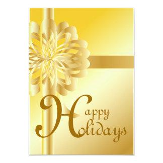 Business Card Happy Holidays!-Customize 13 Cm X 18 Cm Invitation Card