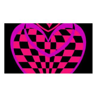 Business Card Heart Design