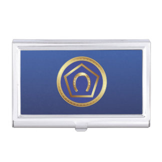 Business Card Holder: Germanna Foundation Logo Business Card Holder