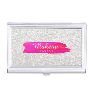 Business Card Holder - Makeup Iridescent
