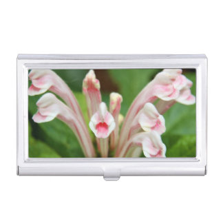 Business Card Holder - Pink Skullcap