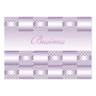 Business Card Lilac Mauve Art Deco