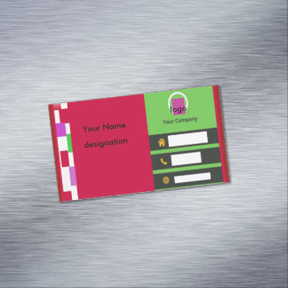 Business Card Magnet Magnetic Business Cards