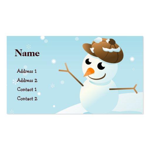 Business Card Merry Christmas
