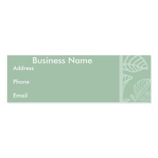 Business card Mint Leaf