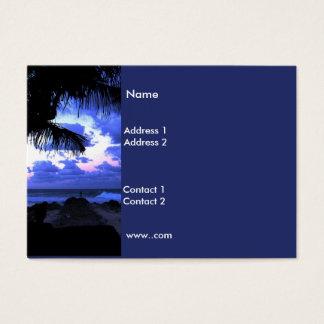 Business Card Moonlight