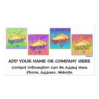 Business Card - Pop Art Piece of Pie