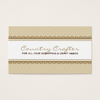 BUSINESS CARD :: pretty crafty 1